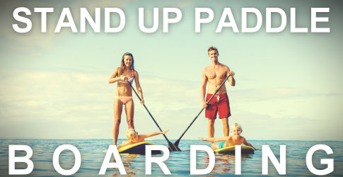 Fiddlehead Resort Camp Activities Stand Up Paddle Boarding SUP